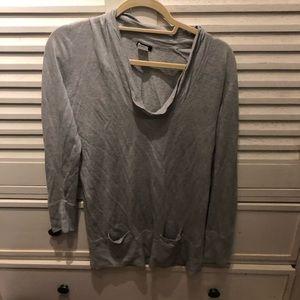 J.Crew light grey sweater- small